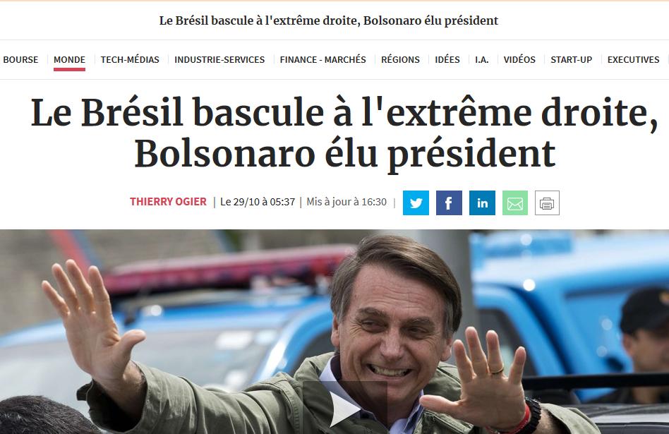 Brésil bascule à l'extrême droite