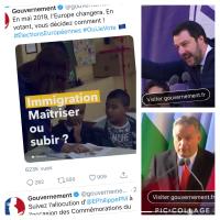 Tiens, l'«affiche #FN» du #Gouvernement français  ...