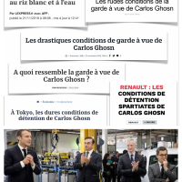 Carlos #Ghosn ou quand l'exil[é] fiscal devient #chouchou de la #Presse française...