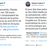 «Hé Camarade! t'as pas Cent balles?»| Le sketch (politique) de #Macron, pas de quoi #100baller..