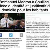 #Macron à #Souillac: Des habitants «assignés à résidence» avec travaux d'intérêt général, liberté confisquée ...