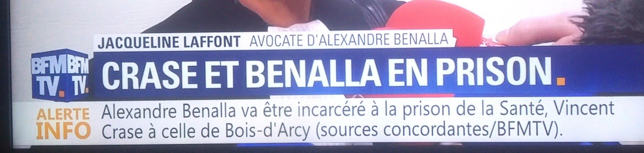 Benalla Crase Prison #çaSuffit Affaire BenallaMacron
