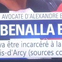 #Benalla en prison, ça c'est fait..
