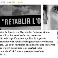 ici #RadioLondres, le Gouv. #Macron veut «casser du #GiletsJaunes», je répète ...