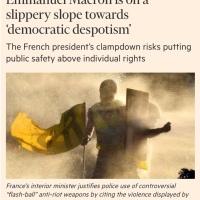 «Emmanuel #Macron sur la pente glissante du «#despotisme démocratique» | Et c'est le @FinancialTimes qui le dit...