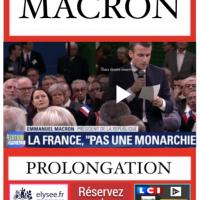 """Au Théâtre de l'#Élysée, le """"Monologue de #Macron"""", chapitre fin, dernière séance…"""