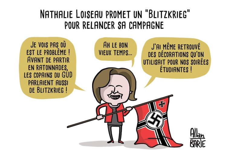 Nathalie Loiseau Programme Blitzkrieg Européennes
