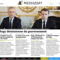 François de #Rugy annule « son abonnement à @Mediapart »| Pincé, contraint à la #démission.