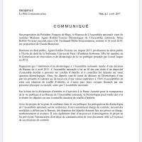 Donc, « #FdeRugy sera contrôlé à l'Assemblée Nationale par une déontologue maison nommée par... François de Rugy!» |Pas mieux ...