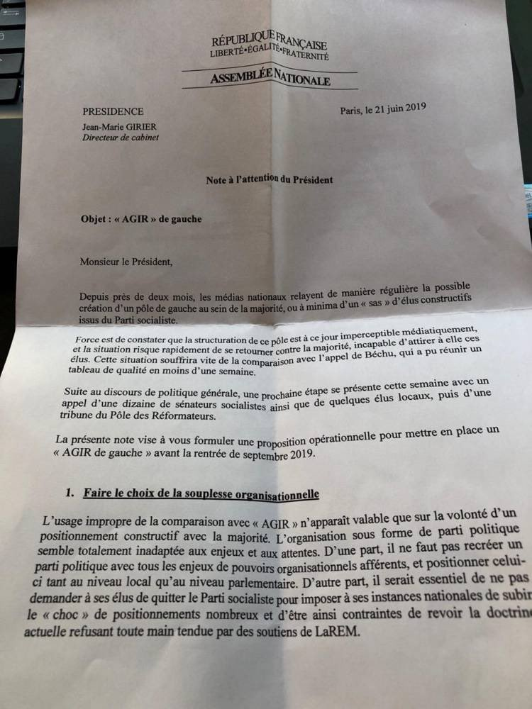 Macron Girier PS