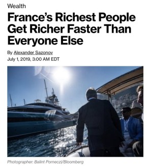 Macron Riches Bloomberg