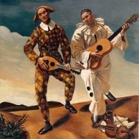 «Arlequin et Pierrot», de (deux) joyeux saltimbanques |By André Derain. #Cébô