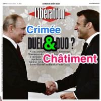 «Crimée & Châtiment» ou la rencontre «Poutine-Macron» ...