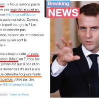 #Immigration: le «Off Salvini» d'Emmanuel Macron | «Oui mais..» Ça se radicalise...