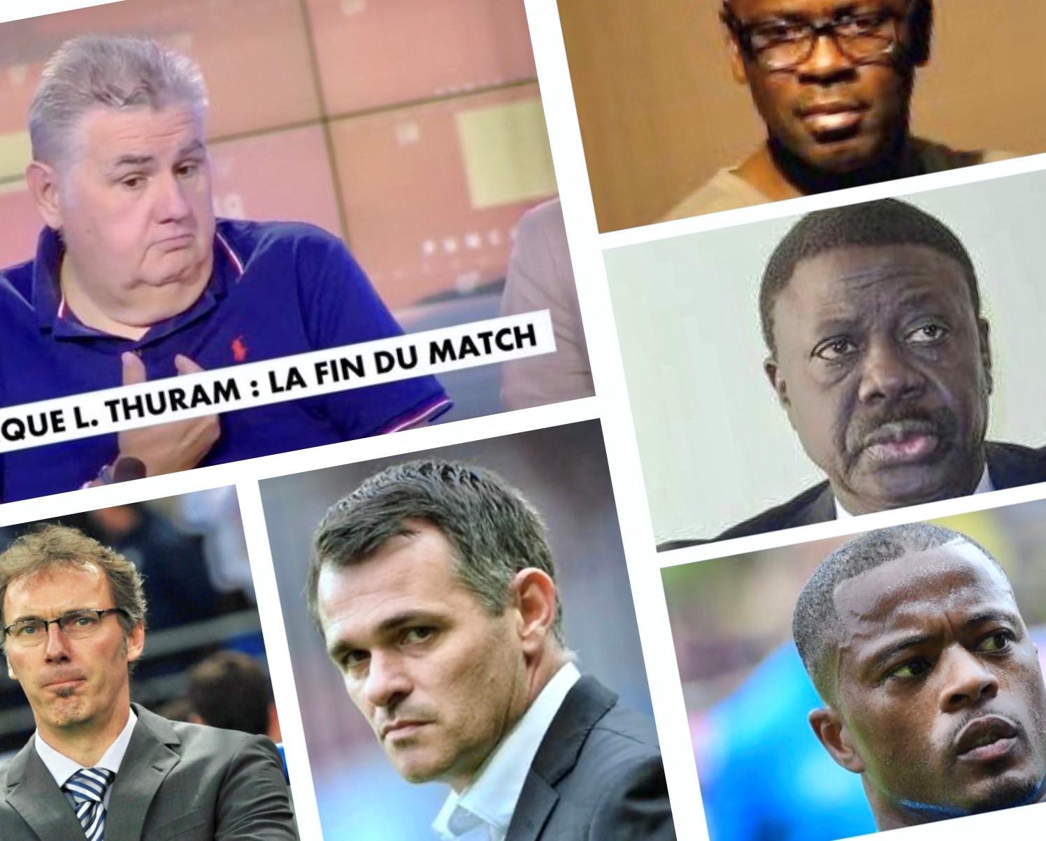 Pierre Menes Lilian Thuram Racisme foot