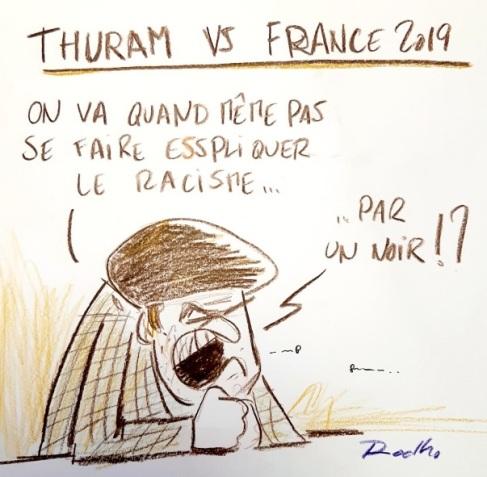 Thuram Blanc Racisme France