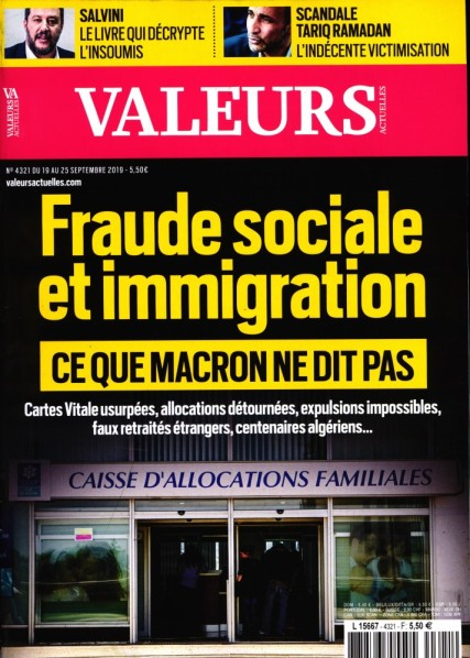 immigration Macron Valeurs Actuelles