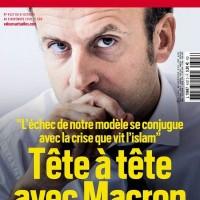 """Les @Valeurs [Actuelles] d'Emmanuel #Macron: la """"#Minute d'allégeance"""" à l'#extrêmedroite..."""