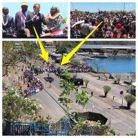Le «bain de foule augmenté» de Macron à Mayotte | Zoom sur une «imposture visuelle»...