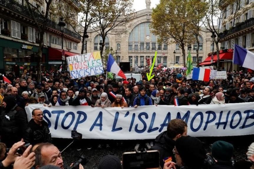 Manif contre l'islamophobie Paris #Le10Contrelislamophobie