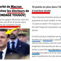 Emmanuel Macron: «Ich bin d'extrême-droite»...