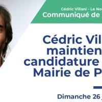 Tiens, Emmanuel Macron désavoué par Cédric Villani |« Paris j'y suis j'y reste et voilà!» ...