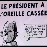 Emmanuel Macron «le Président à l'oreille cassée »  | BD (billet dessiné) ....