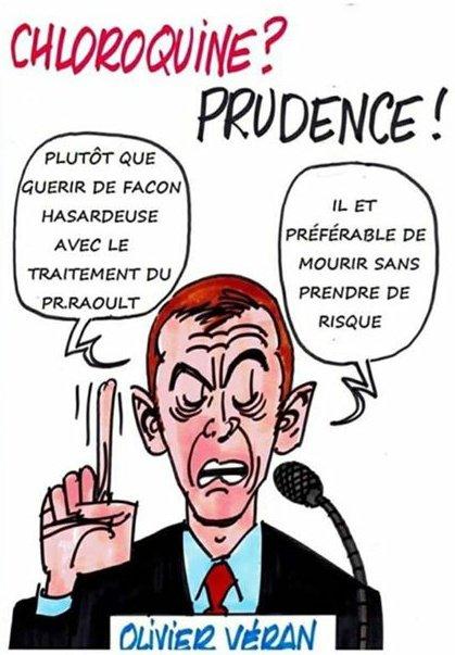 Choroquine CoVid Pr Raoult Olivier Veran Bilan CoVid19fr