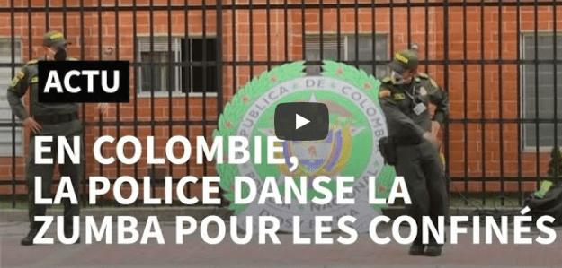 Colombie Zumba Confinés
