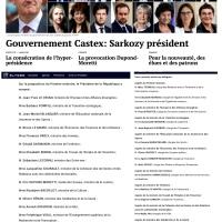 #Gouvernement: Le «Sarkozy nouveau» est arrivé! Et il a un goût d'ultra #DroiteForte ...