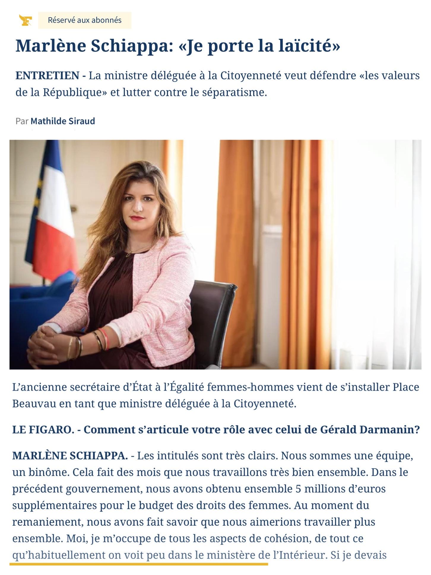 Marlene Schiappa Laîcité