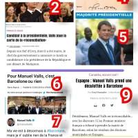 Les  «valeurs caramba» de Manuel Valls en une image (et dix titres)...