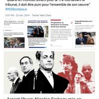 Nicolas Sarkozy, pour «l'ensemble de son œuvre» ...