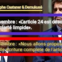 «#Article24 conneries» | Résumé.