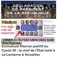 «Dîner de cons» à l'Élysée: Principes & conséquences...  #Covid19