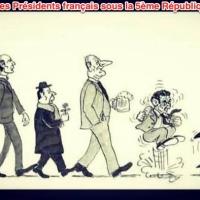 «Théorie de l'évolution» des Présidents français sous la 5ème République...
