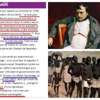 #Napoléon, le #SuprémacisteBlanc ...