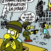 #Gaza: C'est encore #CharlieHebdo qui en parle le mieux…