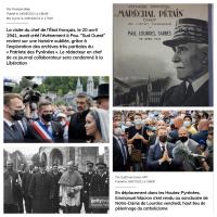 #Macron dans les pas de #Pétain, des symboliques #Lourdes (de conséquences)...