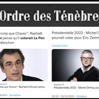 Enthoven - Michel Onfray ou «l'Ordre des Ténèbres»…